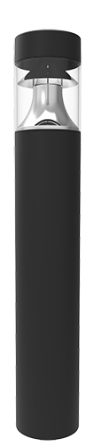 D309 LED bollard full image