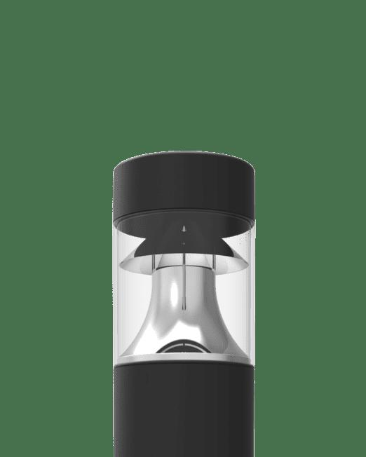 D309 LED bollard zoomed in