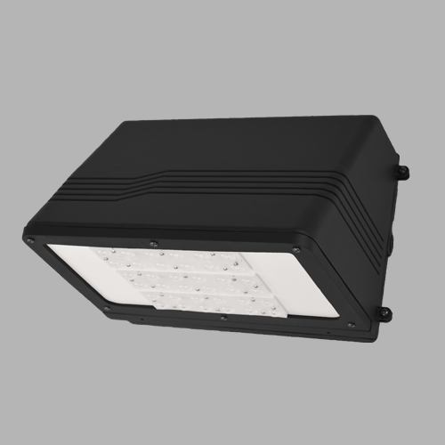 D420 trapezoidal LED full cutoff wall pack