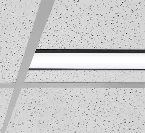 Vector Recessed T-bar luminaire