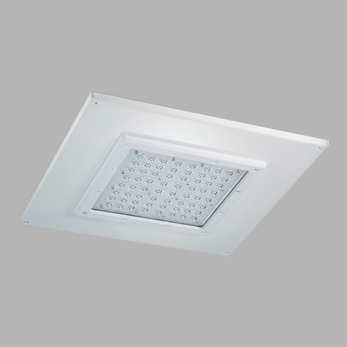 D533R recessed LED canopy