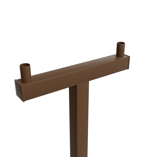 DASA-DSSA 4″ SQUARE STEEL TENON ARM SERIES