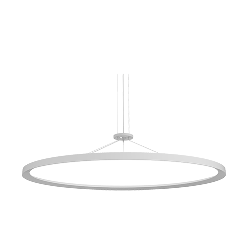 Nice Circa Round Flat Panel LED Luminaire