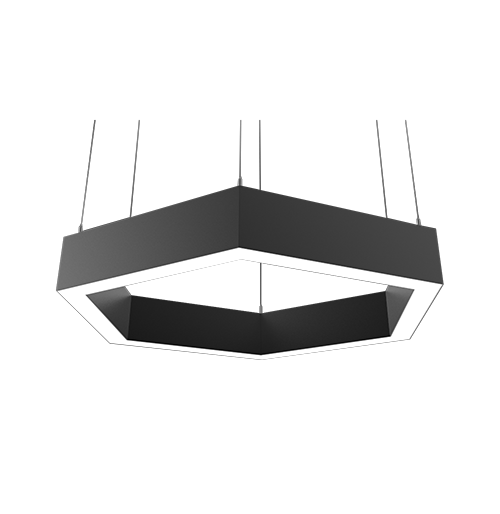Vector Hex interior luminaire